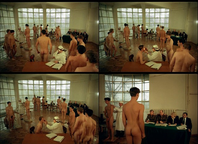 Naked Russian Schoolboys Passing Army Medical Examinations